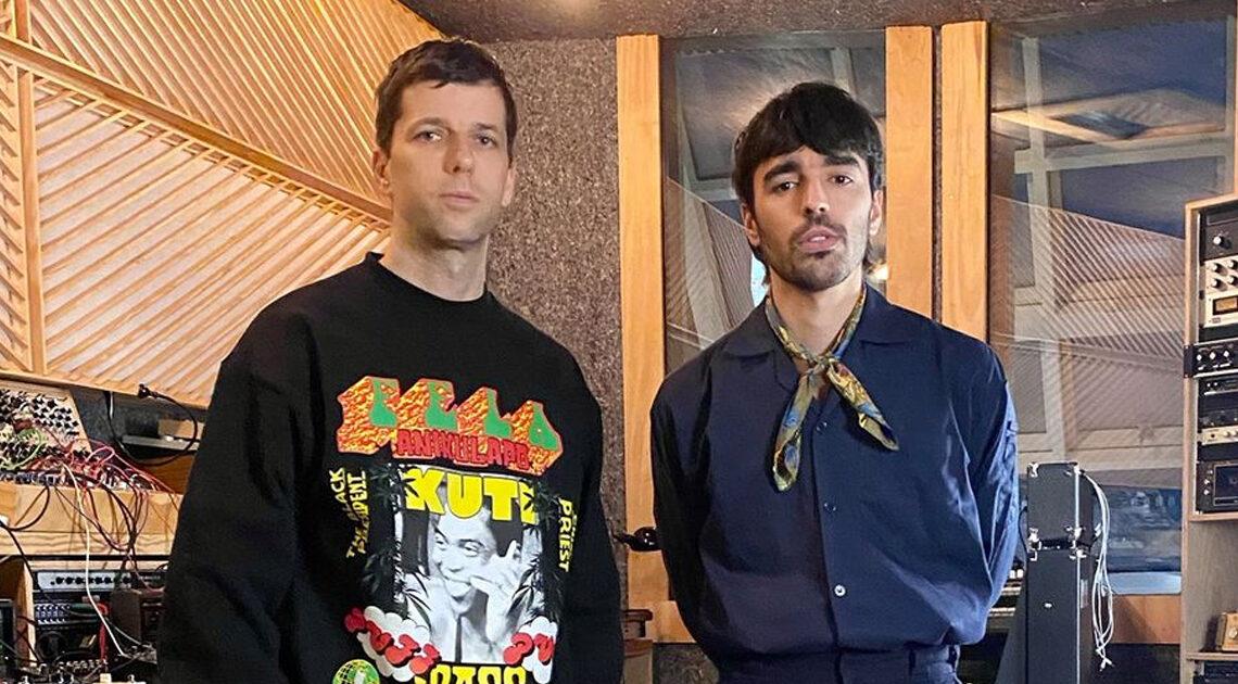 Dixon & Trikk im Studio