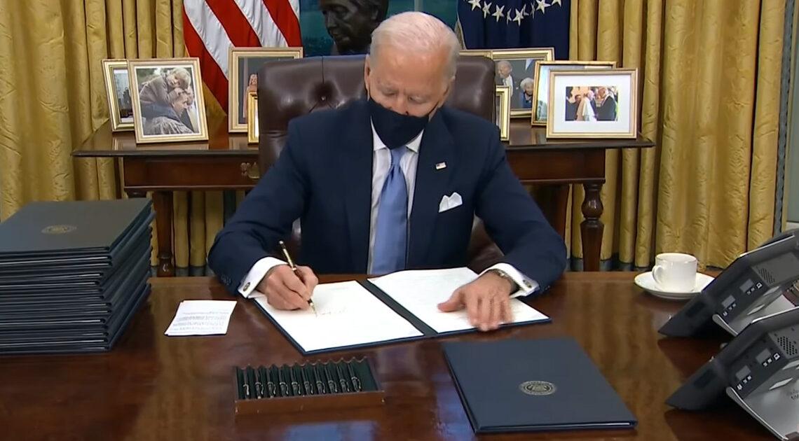 Joe Biden der 46. Präsident der Vereinigten Staaten von Amerika