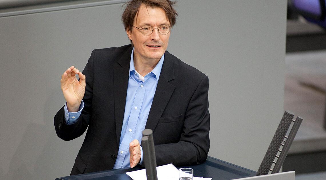 Gesundheitsexperte Karl Lauterbach